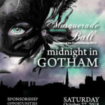 Midnight in Gotham Masquerade Ball planned for October 27, 2018